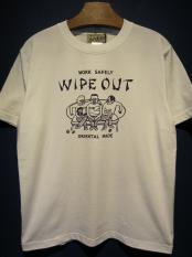 North No Name WIPE OUT (WHITE×NAVY)