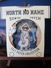 North No Name FELT PATCH (Then Split)