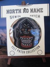 North No Name FELT PATCH (GORILLA)