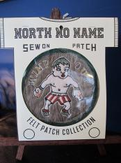 North No Name FELT PATCH (WIMP OUT)