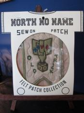 North No Name FELT PATCH (OLD TRICK)