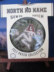 North No Name FELT PATCH (ROLL THE DICE)