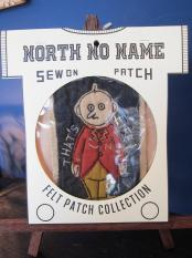 North No Name FELT PATCH (THAT'S LIFE!)