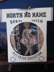 North No Name FELT PATCH (ADULT ONLY)