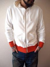 5WHISTLE /ZIP UP PARKA (WHITE)