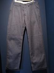 5WHISTLE/CHAMBRAY STRIPE PANTS (BLUE)