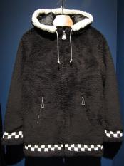 "5WHISTLE / ""CHECKER"" CHIRORIAN COAT (BLACK)"