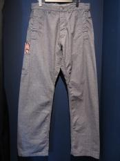 5WHISTLE / WHISTER DUSTER PANTS (PIN CHECK)