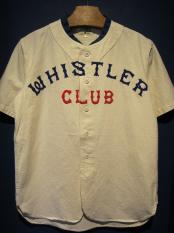 5WHISTLE/WHISTER BASEBALL JERSEY (WHITE)
