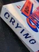 "Vintage / ""CRYING TOWEL"" GAG GIFT(WHITE)"
