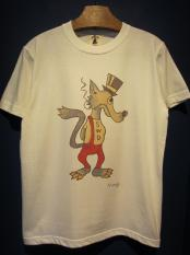 "Vinny×EDWARD LOW ""Wolf's tail"" TEE(WHITE)"