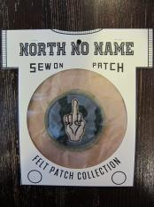 North No Name FELT PATCH (EARTH)