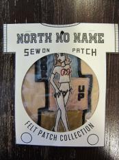 North No Name FELT PATCH (HOOK UP)