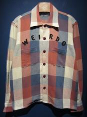 WEIRDO  RUSTIC - L/S SHIRTS (RED)