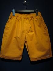 "NORTH NO NAME ""KILROY WAS HERE"" SHORTS (ORANGE)"