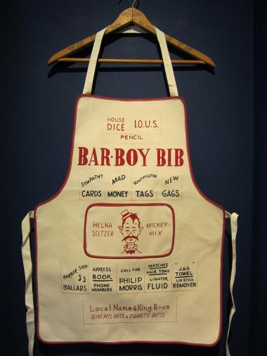 "LOCAL NAME ""BAR BOY RIB"" エプロン"
