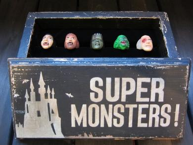 WEIRDO WRD SUPER MONSTER RING COMPLETE SET