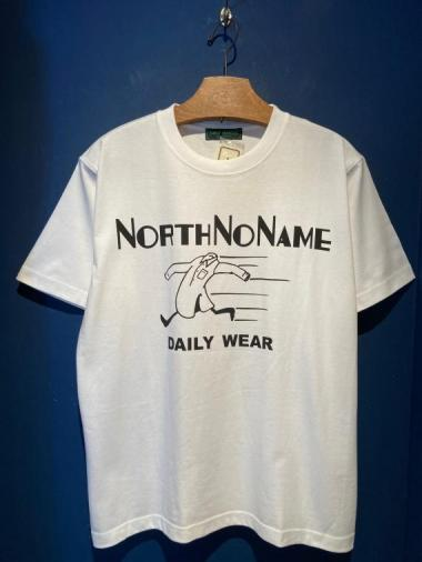 NORTH NO NAME/ ADVERTISING S/S T (WHITE)