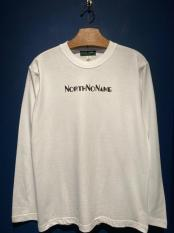 NORTH NO NAME/ ADVERTISING L/S T (WHITE)
