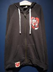 Miss Ladybug KEWPIE DOLL ROMANCE - ZIP UP HOODIE