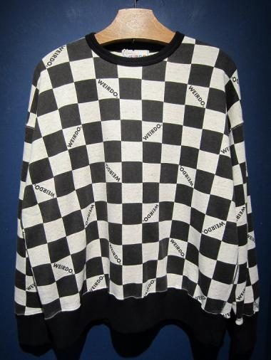 WEIRDO  79CHECKER - SWEAT
