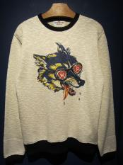WEIRDO  WOLF BAIT - KNIT L/S SHIRTS