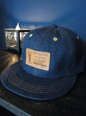 "5WHISTLE /  ""LEATHER PATCH"" DENIM CAP"