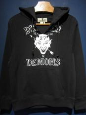 NORTH NO NAME   DEXTER DEMONS HOODIE(BLACK)