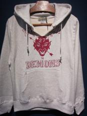 NORTH NO NAME   DEXTER DEMONS HOODIE(OATMEAL)