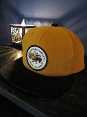 NORTH NO NAME  CORDS TWO TONE CAP (MUSTARD)