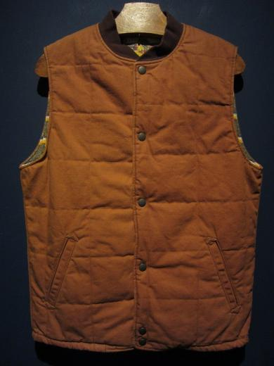 5WHISTLE/DUCK CARPENTER VEST (BROWN)