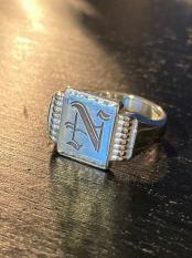 NORTH NO NAME/ SIGNET RING【N】