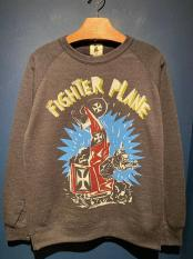 "EDWARD LOW×Vinny ""FIGHTER PLANE"" SWEAT (NVY)"
