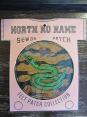 North No Name FELT PATCH (MAD SNAKE)