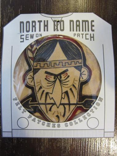 North No Name FELT PATCH (INDIAN)