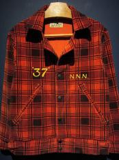 NORTH NO NAME   PLAID PRINTED CORDUROY JACKET