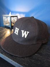 THE H.W.DOG&CO.  UMPIRE CAP (Brown)