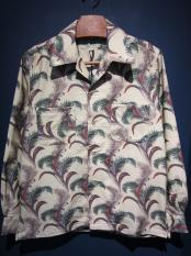 5WHISTLE /  HAWAIIAN NEL SHIRTS (BEIGE)