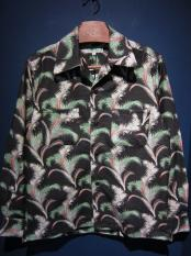 5WHISTLE /  HAWAIIAN NEL SHIRTS (BLACK)