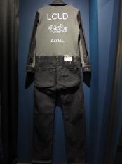 GAVIAL / l/s denim/sweat jump suits