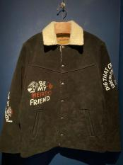 WEIRDO / HEY KIDS! - RANCH JACKET (BLACK)