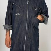 "【予約商品】GAVIAL / l/s jumpsuits ""denim"""