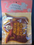 North No Name FELT PATCH (PATCH & BANNER)