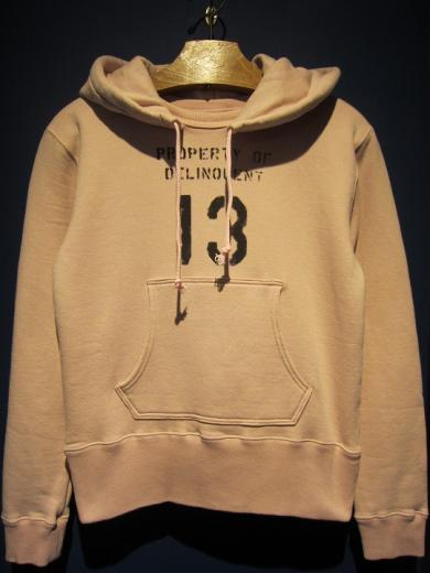 Delinquent Bros / After Hoodie (PINK)