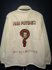 "NORTH NO NAME/""GET THE MESSAGE?"" CORCH JACKET(WHT)"