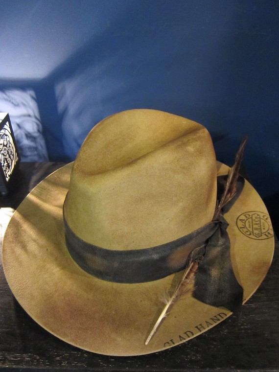 glad hand co hat luv letter beige swindle