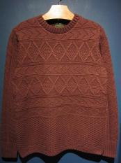 BY GLADHAND  ISLANDS - CREWNECK (BURGUNDY)