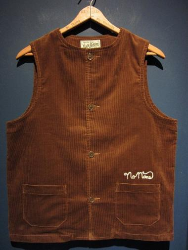 NORTH NO NAME   CORDUROY VEST