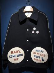WEIRDO  COMICAL PINBACK - JACKET