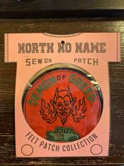 North No Name FELT PATCH (DEMON)
